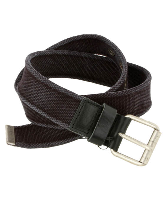 Fabric Belt Blue/Black